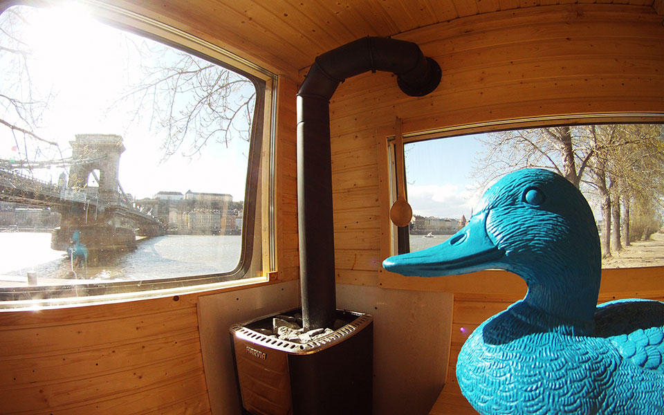 sauna in budapest