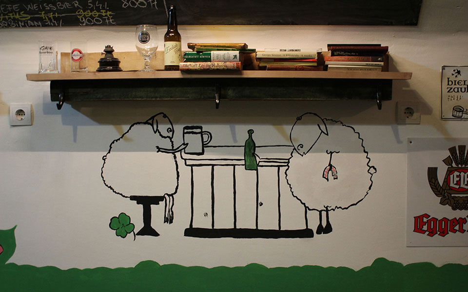 green sheep bar budapest