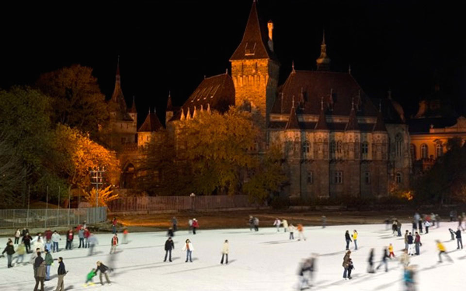 budapest in the winter