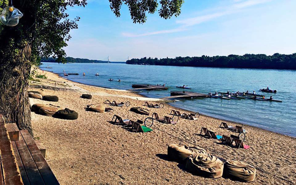 beaches in budapest