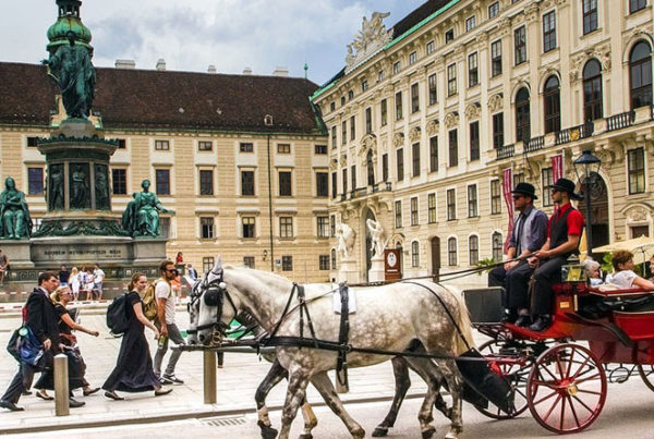 visiting Vienna and Budapest