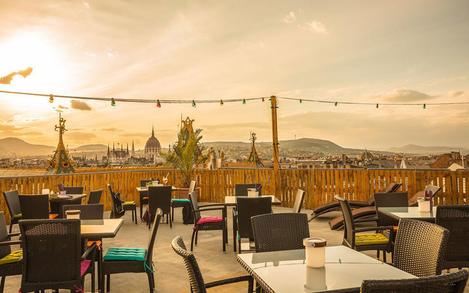 budapest rooftop bars